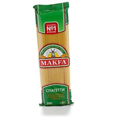 Макаронные изделия  спагетти Макфа 500г