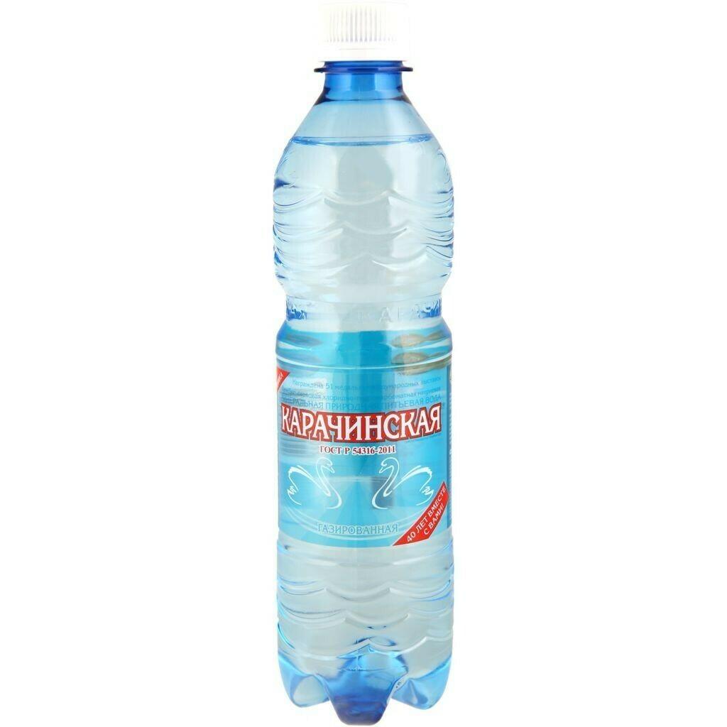 Вода минеральная Карачинская 0.5л