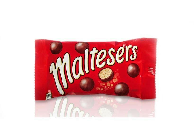 Драже Maltesers шоколадные шарики, 37г
