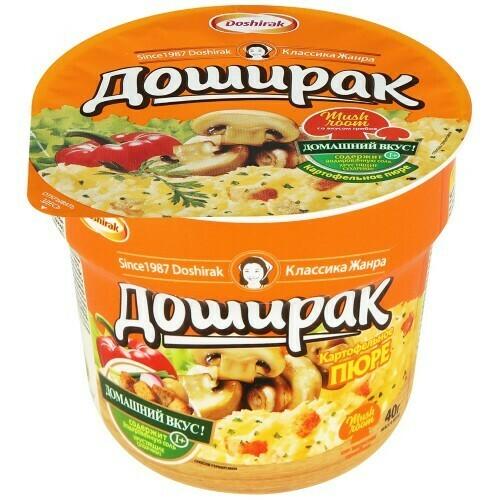 Картофельное пюре Доширак грибы 40 гр