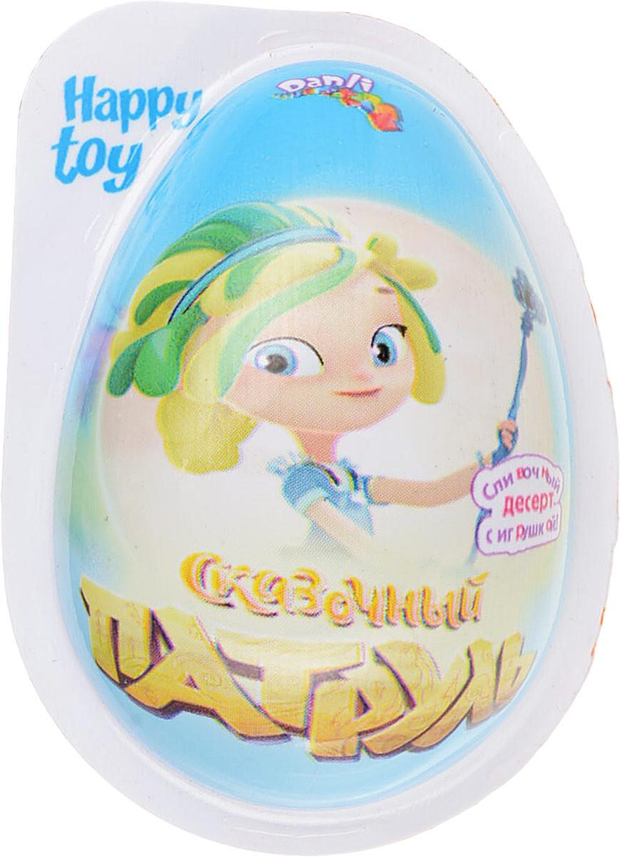 Пластиковое яйцо Сказочный патруль с игрушкой и десертом 20гр