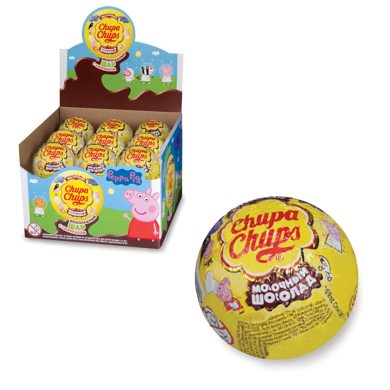Шоколадные шары Чупа-чупс 20г
