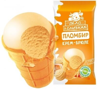 Мороженое Дело в сливках пломбир 70-90г