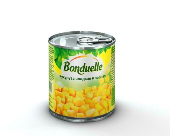 Кукуруза 170г Бондюэль