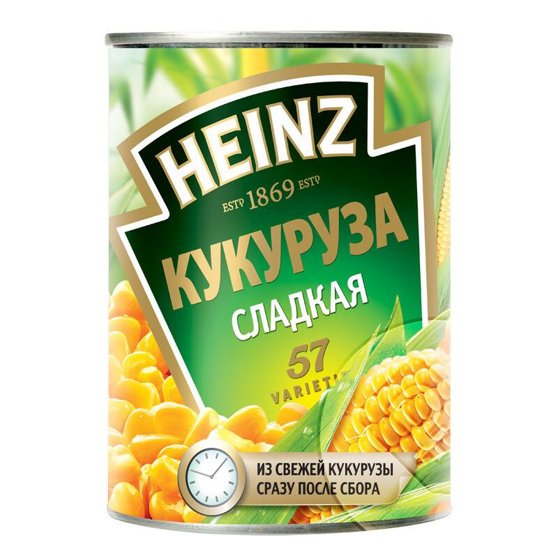 Кукуруза Хайнц 340 гр