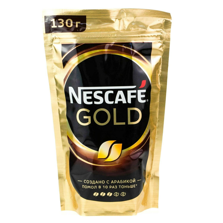 Кофе Нескафе ГОЛД 130г