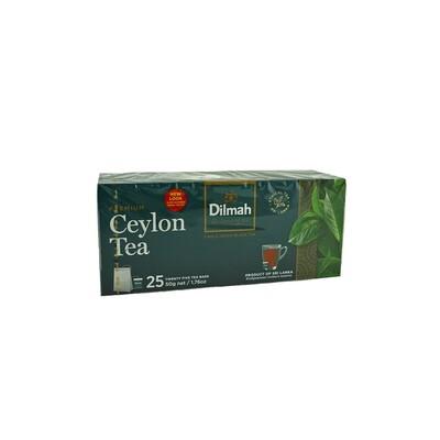 Чай Dilmah черный в пакетиках 25 шт*2г