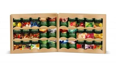 Чай Гринфилд Набор 120пак. 30 видов