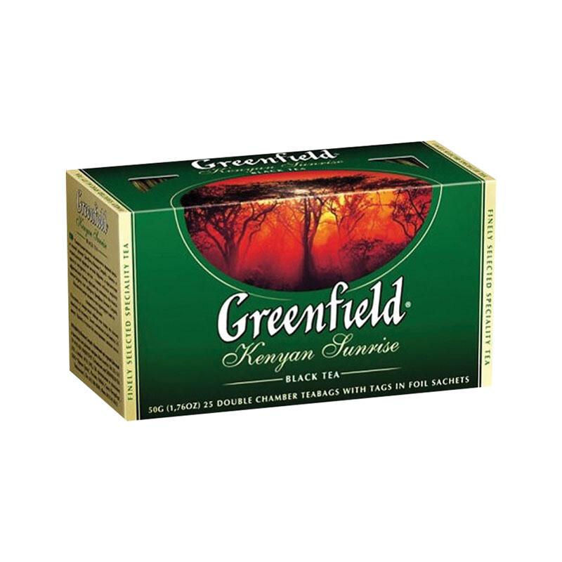 Чай Гринфилд 25п в ассортименте