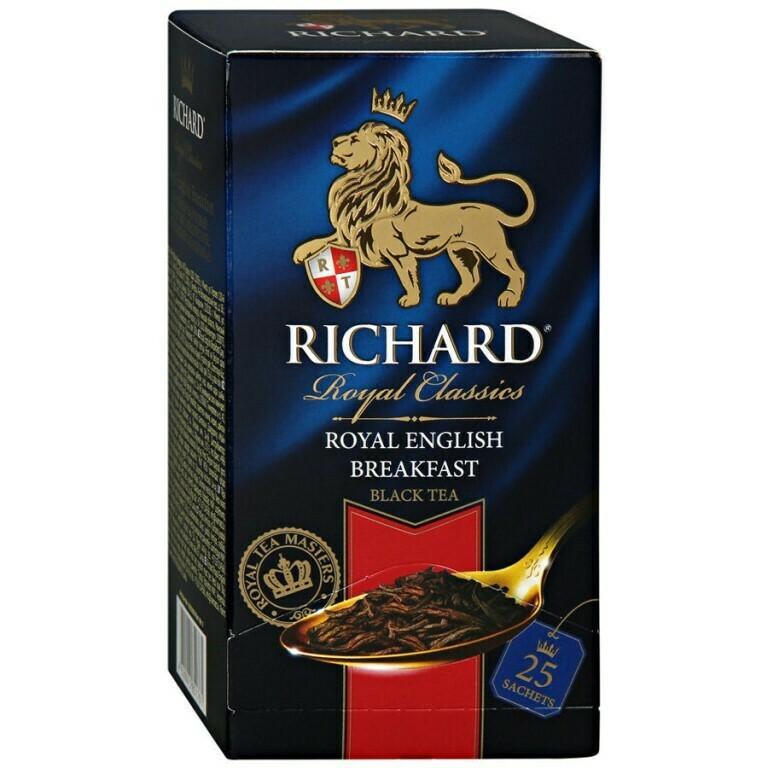 Чай Ричард в ассортименте 25п