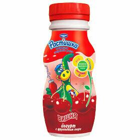 Растишка йогурт питьевой 90г