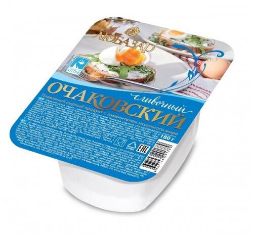 Плавленный продукт с сыром Очаковский 180 гр в ассортименте