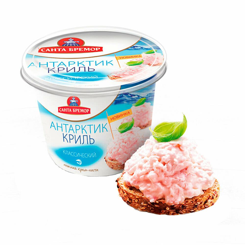 Паста из морепродуктов Антарктик-Криль  Санта-Бремор 150г