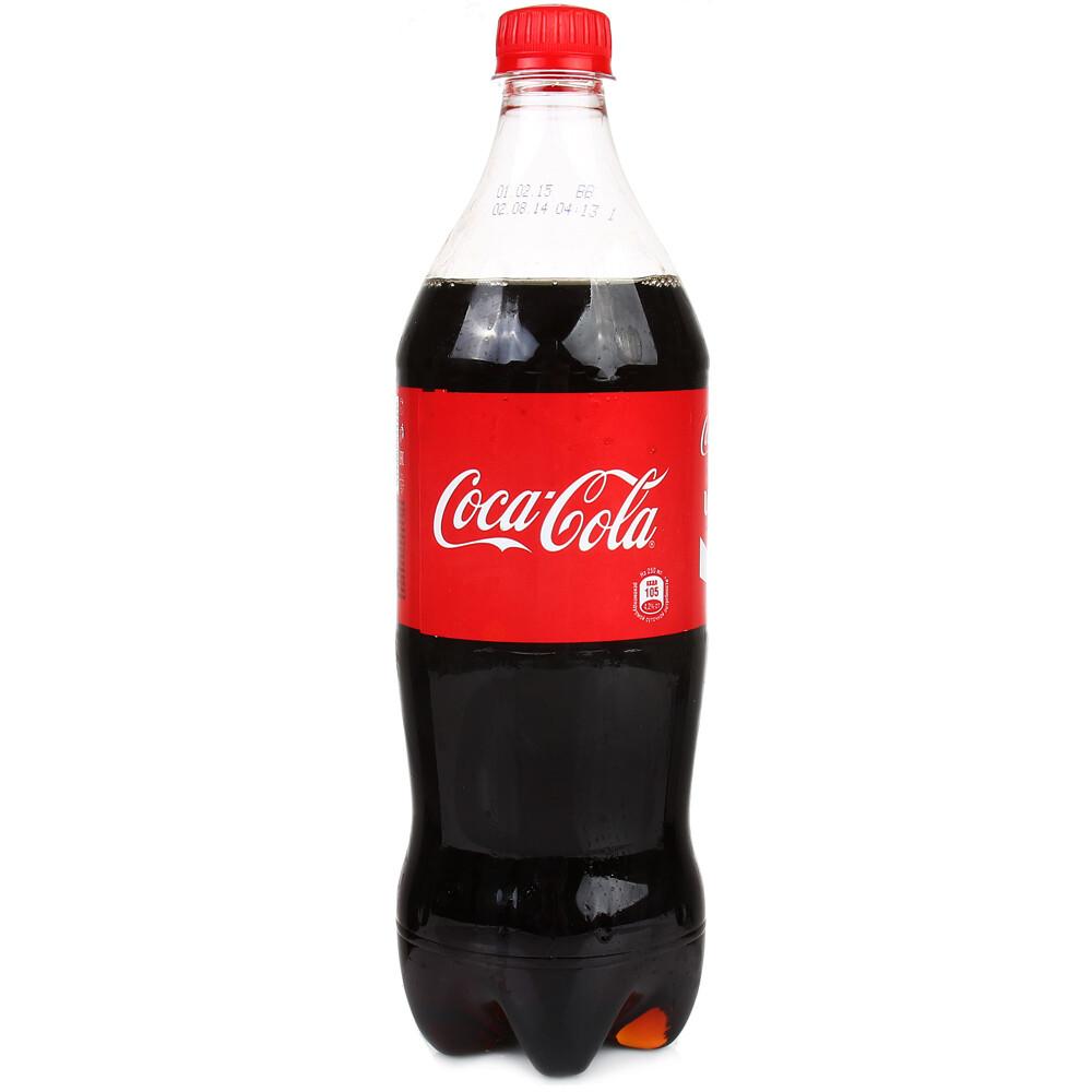 Газированная вода Кока-кола 0.9-1л