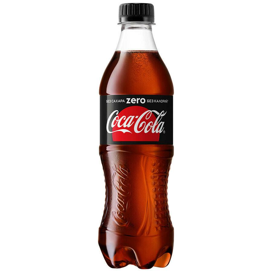 Газированная вода Кока Кола Зеро 0,5л