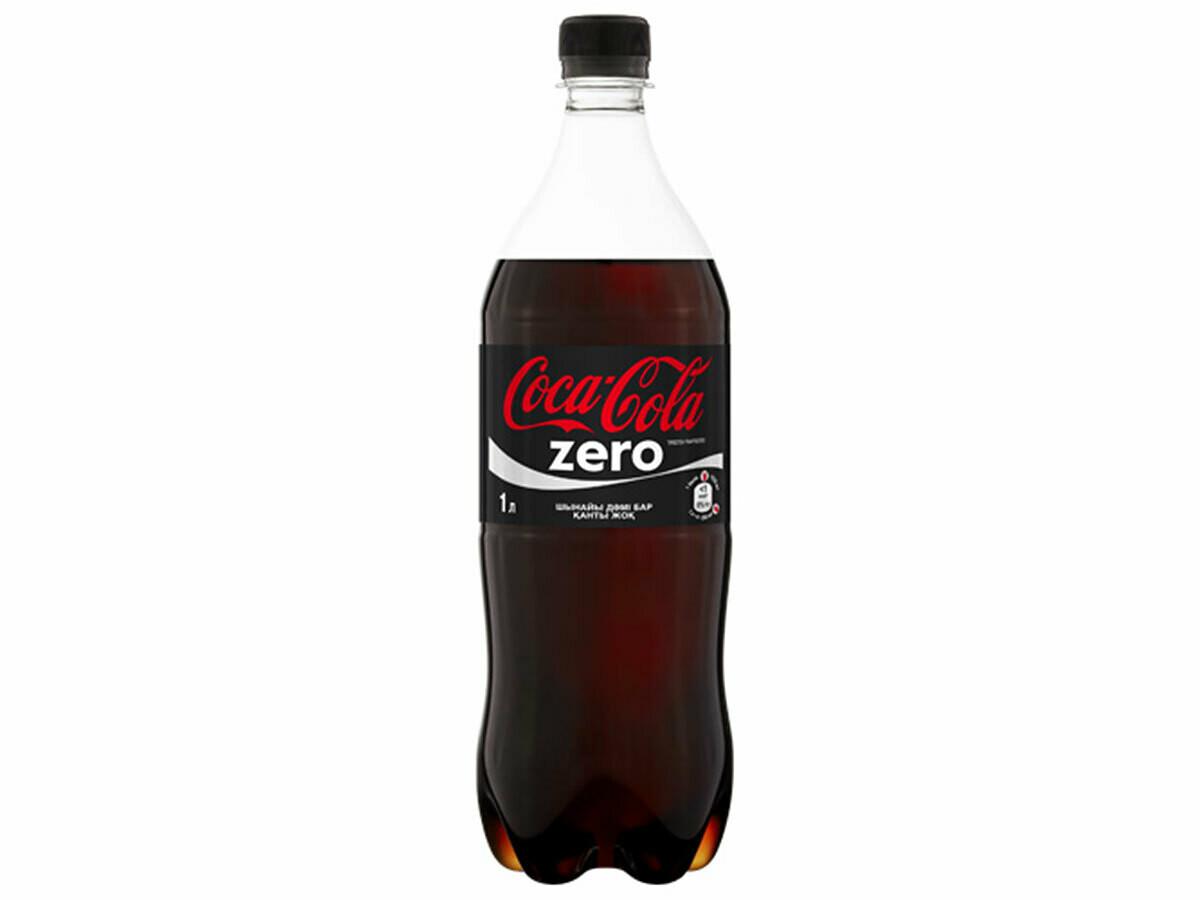 Газированная вода Кока Кола  Зеро 1л