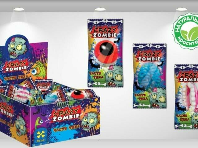 Мармелад Crazy Zombie 10г