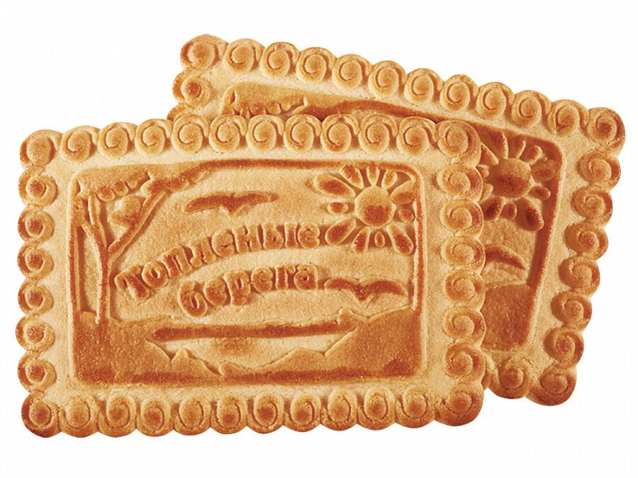 Печенье Топленые берега 1кг Сладонеж