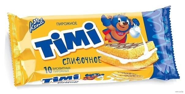 Пирожное Тими 30г  в ассортименте