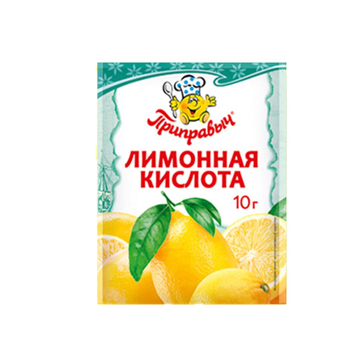 Лимонная кислота Приправыч 10 г