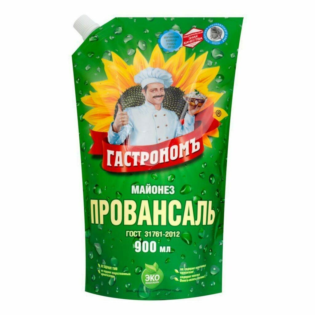 Майонез Гастроном Провансаль 67% 900/1000г
