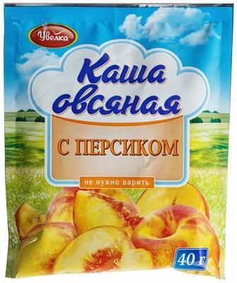 Каша овсяная с персиком 40г, Увелка