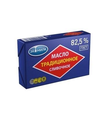 Масло Традиционное 82.5% 180г Экомилк