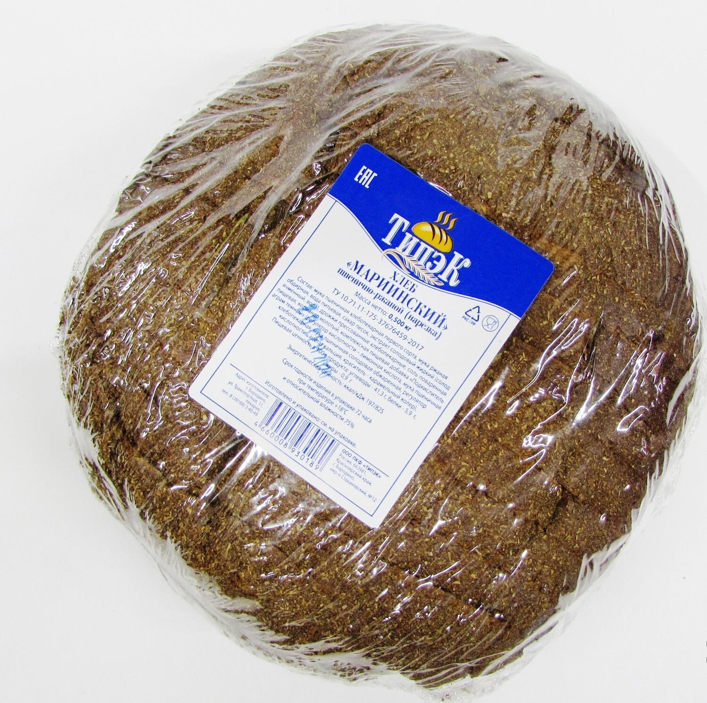 Хлеб Мариинский пшенично-ржаной  нарезка 500г Типэк