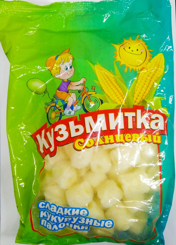 Кукурузные палочки Кузьмитка 80г