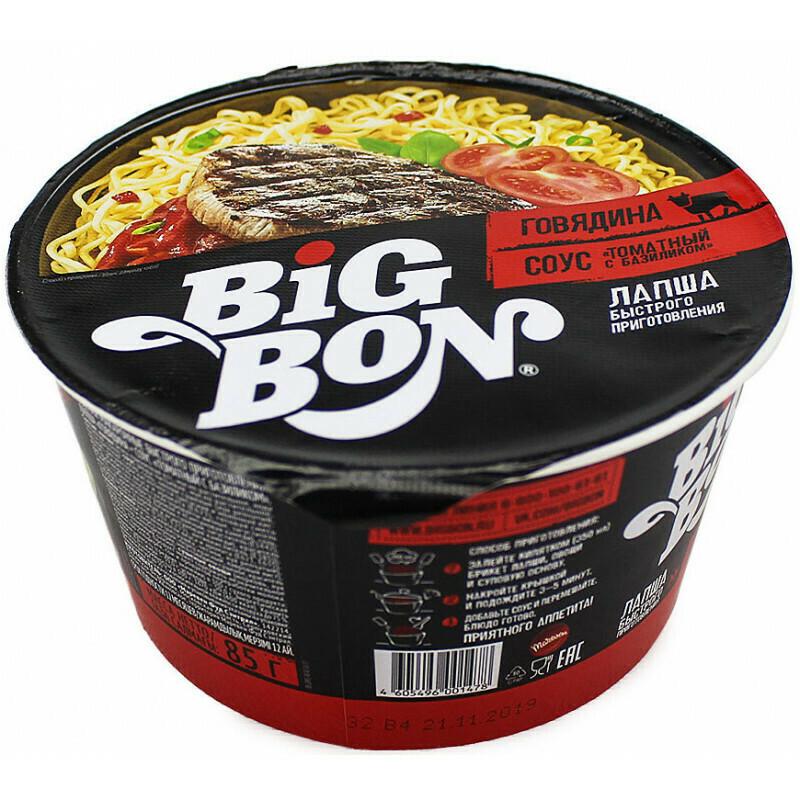 Лапша Биг Бон 85 гр