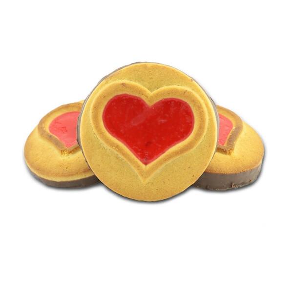 Печенье Сердечко глазированное 1 кг