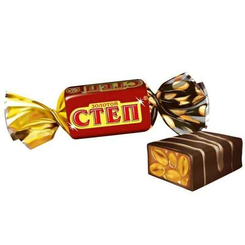 Конфеты Золотой степ 1кг
