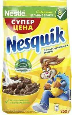 Готовые Завтраки  Молочный Шоколад Несквик 250г