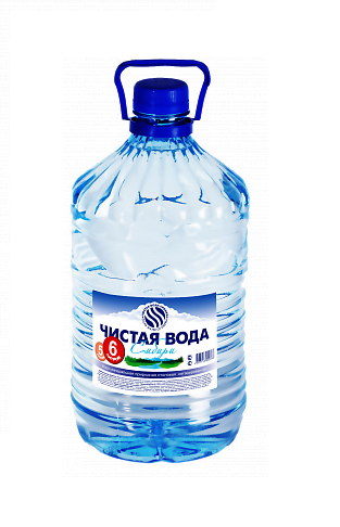 Чистая вода Сибири 6л