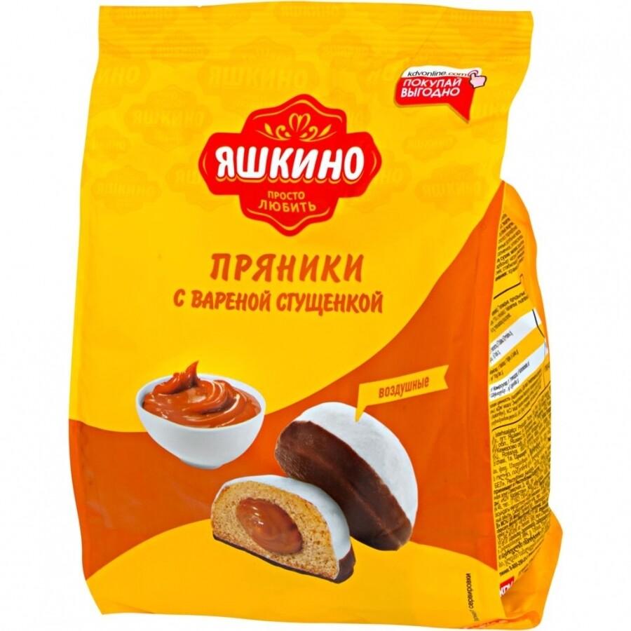 Пряники Яшкино 350г С вареной сгущенкой