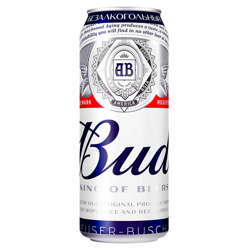 Пиво БАД безалкогольный 0.5л ж/б