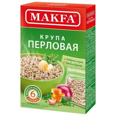 Крупа перловая №1, MAKFA, 400г