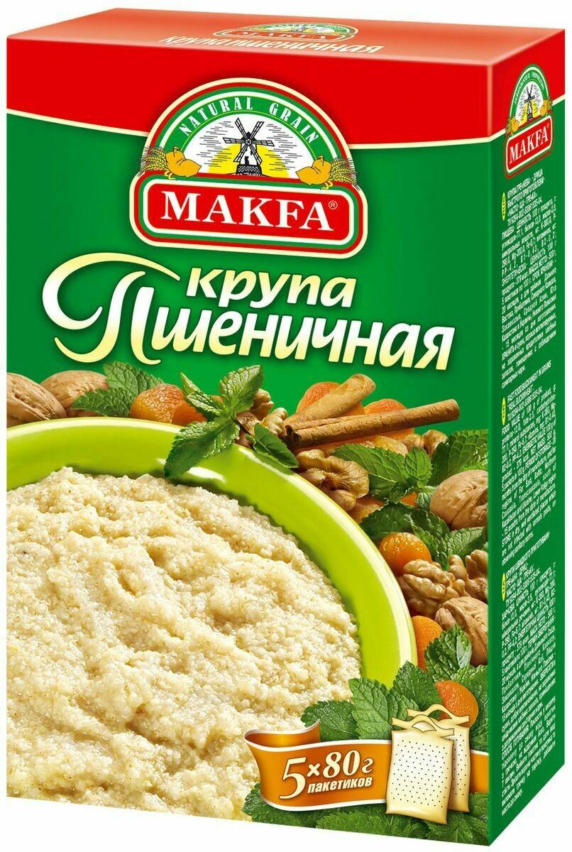 Крупа Макфа пшеничная Полтавская 0,4кг