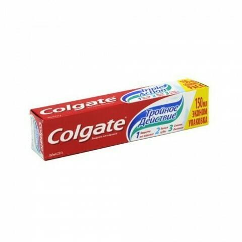 Зубная паста Колгейт Тройное действие 75 мл