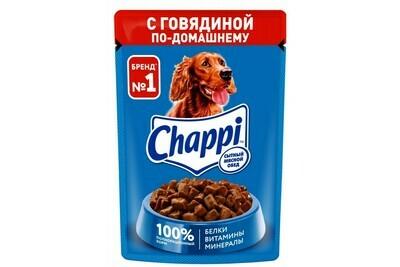 Корм для собак Чаппи в ассортименте 85 гр