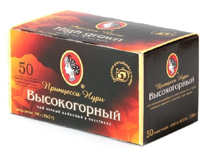Чай Нури Высокогорный 50п