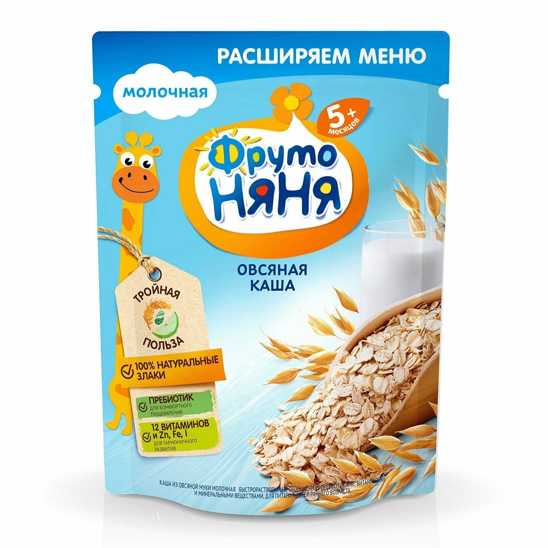 Каша овсяная молочная ФрутоНяня 200 гр