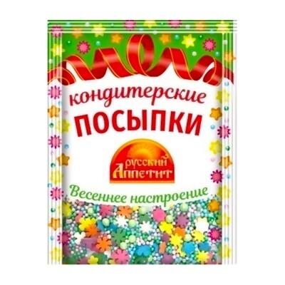 Посыпка кондитерская в ассортименте, 30г                                     .