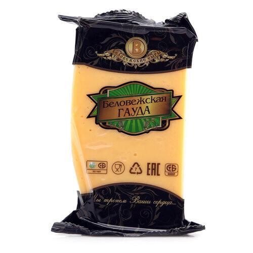 Сыр Беловежская Гауда 200 гр без зжм