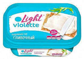 Сыр творожный «Виолетта Лайт»  160 г