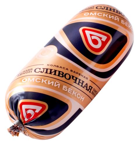 Колбаса Сливочная 500 гр Омский Бекон