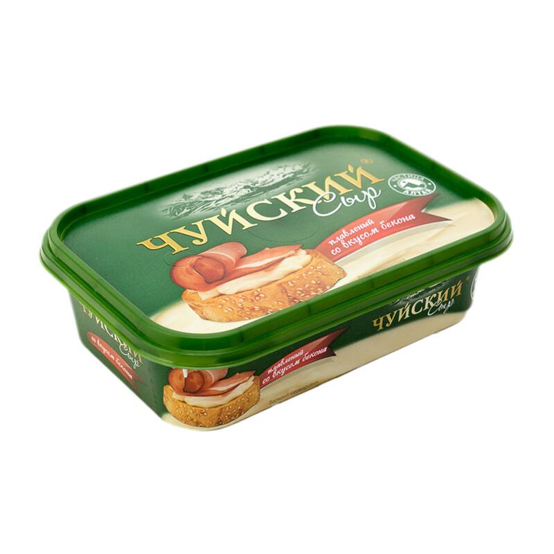 Сыр пастообразный ЧУЙСКИЙ с Беконом 175 г 59%