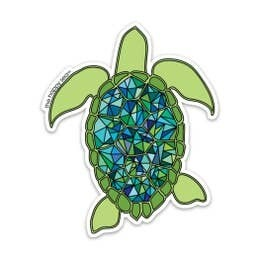 """4"""" Happy Sea Stickers"""