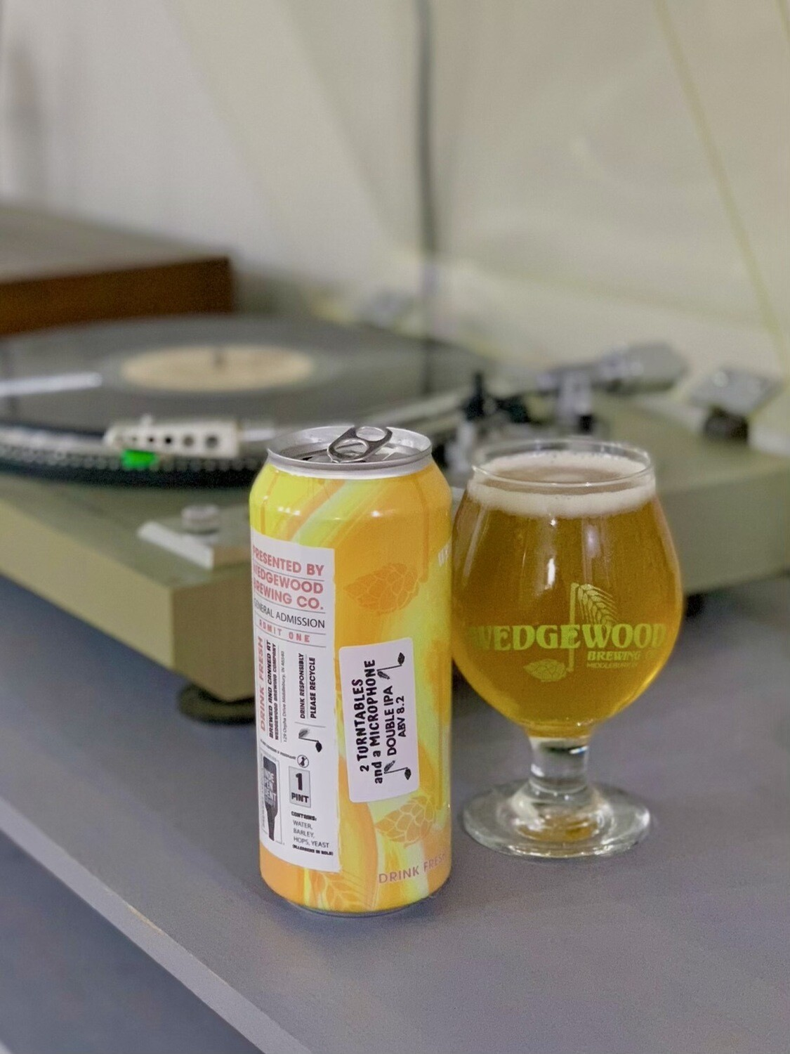 2 Turntables and a Microphone Double IPA