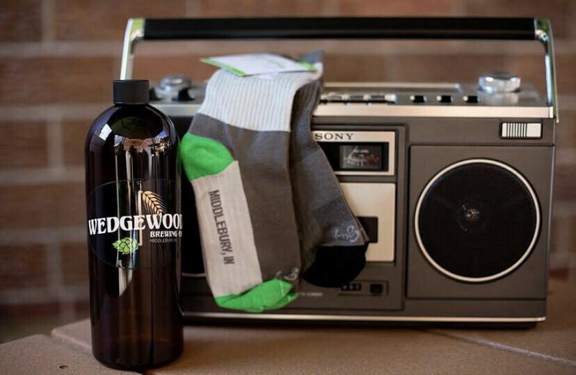 Wedgewood Brewing Custom Socks